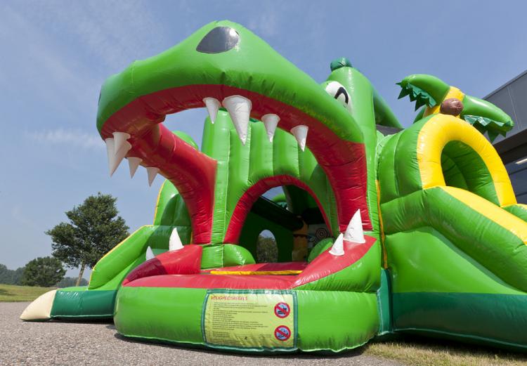 Springkasteel - Shooter Challenge Krokodil - Jumpplaneet