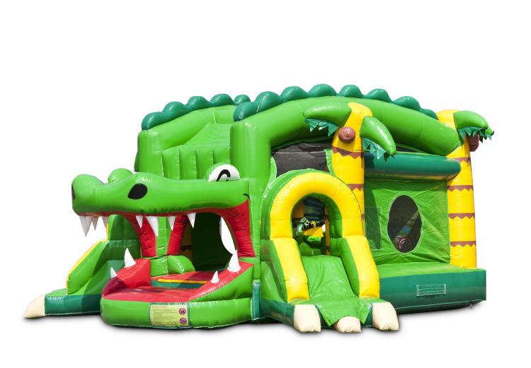 Shooter Challenge Krokodil Vrijstaand